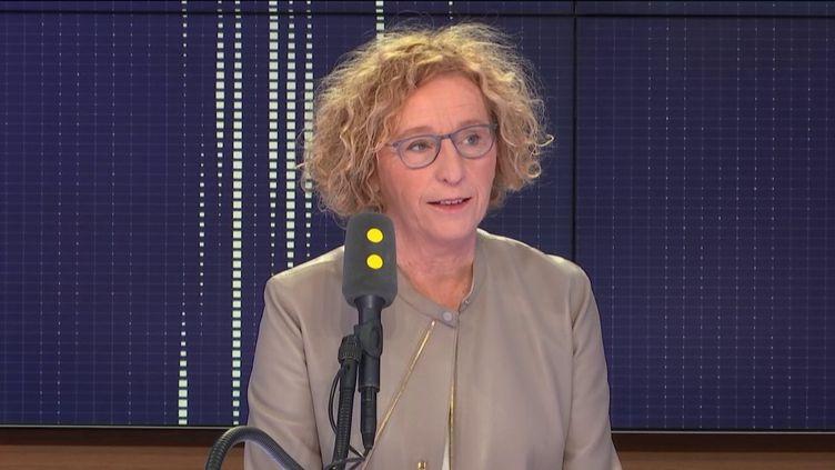 Muriel Pénicaud, ministre du Travail, le 23 octobre 2018. (RADIO FRANCE / FRANCEINFO)
