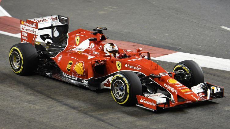 Sebastien Vettel (Ferrari) (ROSLAN RAHMAN / AFP)