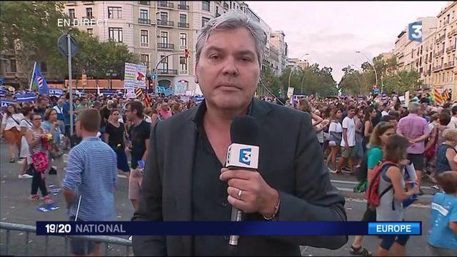Barcelone : une impressionnante mobilisation