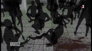 Les bruits des pas des gardiens, le son des câbles utilisés pour torturer... l'enfer de la prison de Saidnaya reconstitué par la mémoire auditive des détenus (ENVOYÉ SPÉCIAL  / FRANCE 2)