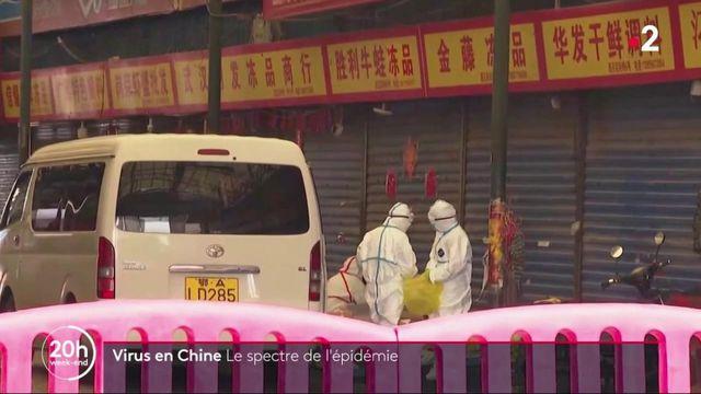 Virus en Chine : le spectre de l'épidémie