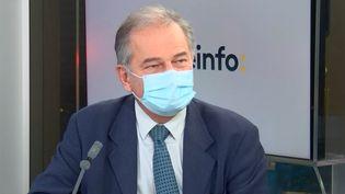 Antoine Perrin, directeur général de la Fehap (Fédération des hôpitaux privés non lucratifs). (FRANCEINFO / RADIO FRANCE)