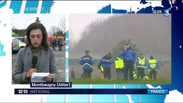 """Accident dans l'Allier : """"la route de la mort"""""""