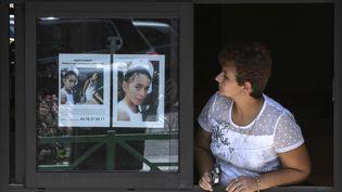 Maelys, 9 ans, a disparu dans la nuit de samedi à dimanche, lors d'un mariage, à Pont-de-Beauvoisin (Isère). (PHILIPPE DESMAZES / AFP)