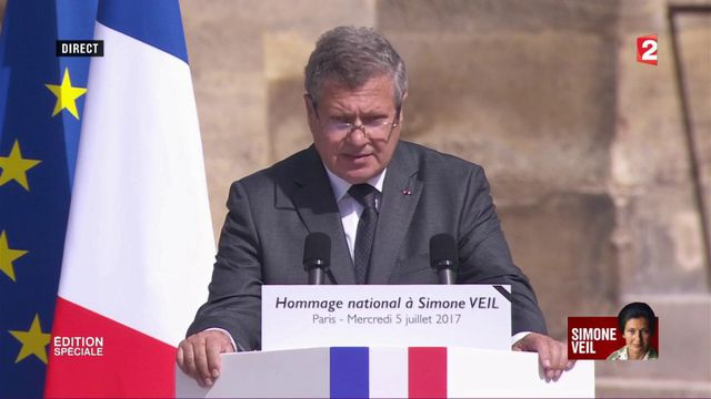 VIDEO. L'hommage de Jean Veil à sa mère Simone