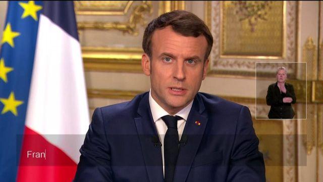 Coronavirus : l'allocution d'Emmanuel Macron en intégralité