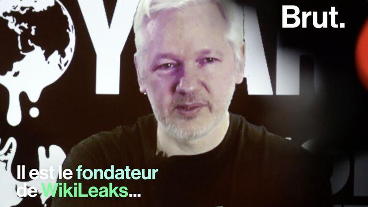 VIDEO. Personnage controversé, on vous raconte l'histoire de Julian Paul Assange (BRUT)