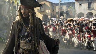 """Johnny Deep joue pour la cinquième fois le rôle deJack Sparrow dans """"Pirates des Caraïbes"""". (WALT DISNEY PICTURES / JERRY BRU)"""