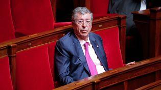 Le député des Hauts-de-Seine, Patrick Balkany, à l'Assemblée nationale, le 15 juin 2016. (CITIZENSIDE/YANN BOHAC)