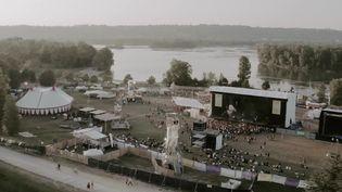 Le festival Woodstower prend place dans le Grand parc Miribel-Jonage à l'est de Lyon. (FRANCEINFO)