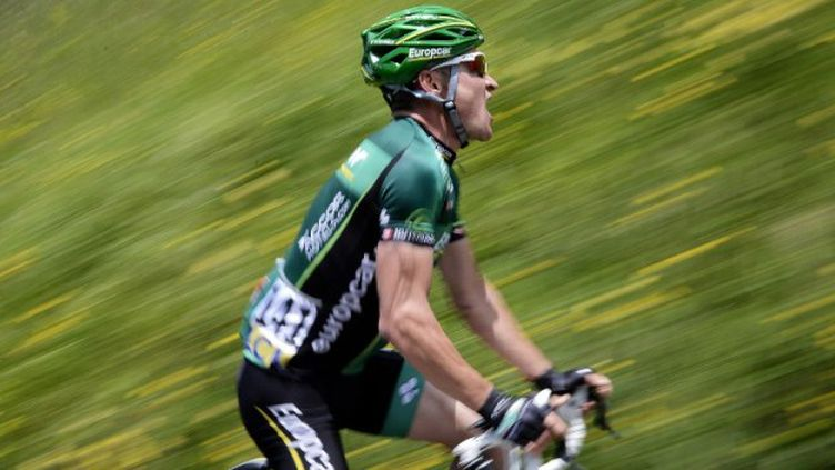 Thomas Voeckler a pris la tête du classement général de la Route du Sud.