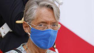 Elisabteh Borne, la ministre du Travail, le 7 octobre 2020. (LUDOVIC MARIN / AFP)