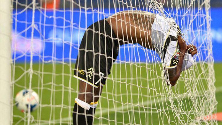 Reginaldo Maicosuel (Udinese) s'en veut (GABRIEL BOUYS / AFP)