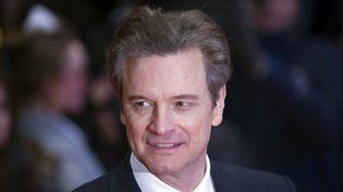 """Colin Firth à la première de """"Genius"""", le 16 février 2016 à la Berlinale  (Euan Cherry / Photoshot / maxPPP)"""