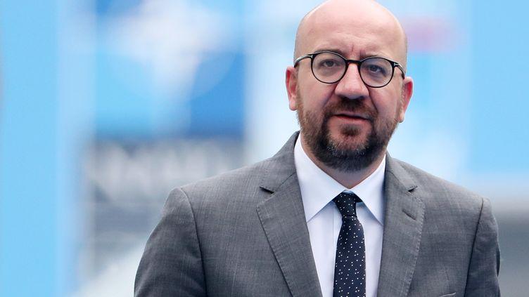 Le Premier ministre belge Charles Michel lors d'un sommet de l'Otan à Bruxelles, le 12 juillet 2018. (AFP)