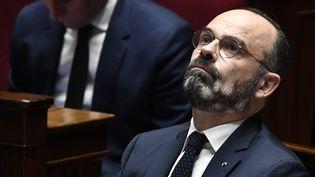 Le Premier ministre Edouard Philippe, le 7 janvier 2020 à l'Assemblée nationale à Paris. (STEPHANE DE SAKUTIN / AFP)