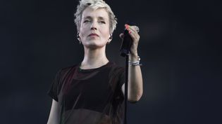 Jeanne Added le 23 août 2019 à Saint-Cloud, aux portes de Paris, lors du festival Rock en Seine (SADAKA EDMOND / SIPA)