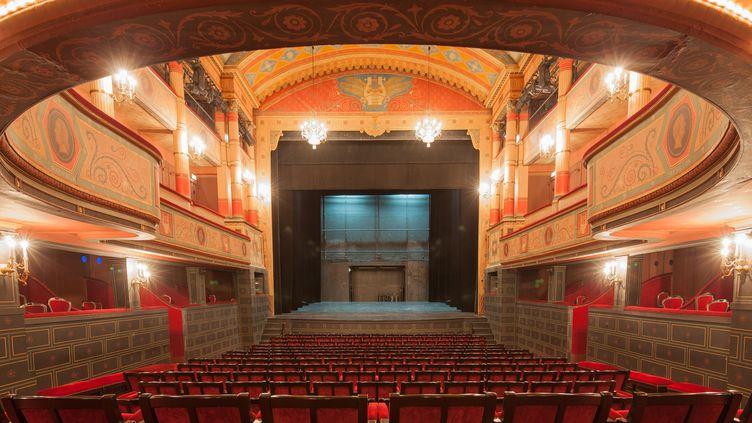 Le théâtre du Conservatoire national d'Art Dramatique. (PHOTO12 / GILLES TARGAT)