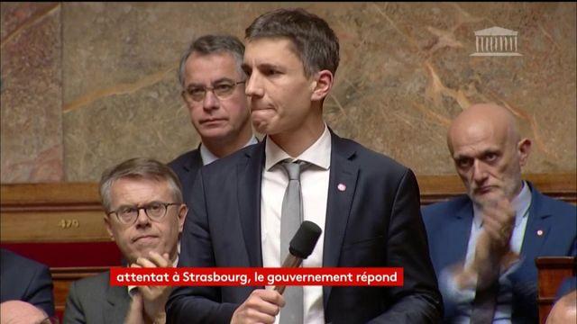 Les larmes du député LREM Bruno Struder lors des QAG