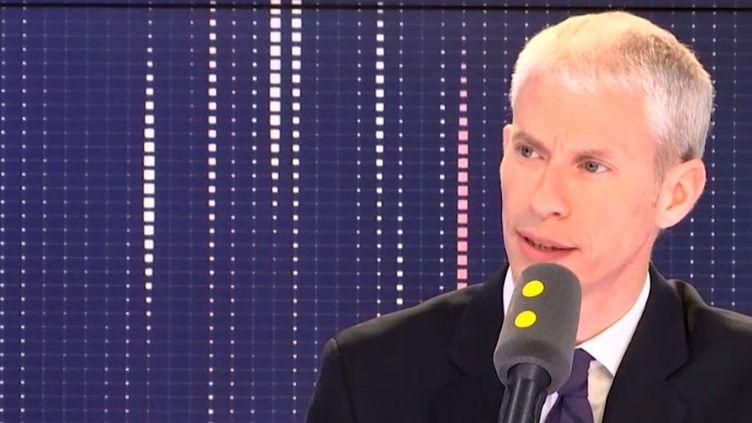 Franck Riester, ministre de la Culture, invité de franceinfo mercredi 29 mai 2019. (FRANCEINFO / RADIOFRANCE)