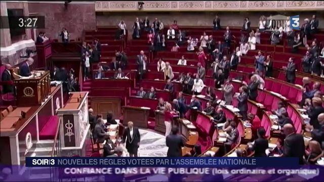 Assemblée : le projet de loi de moralisation de la vie politique adopté