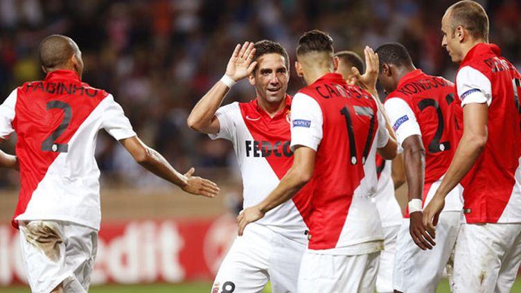 Les joueurs de l'AS Monaco recevront Nice avant d'affronter le Zenith