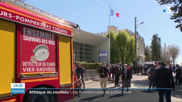 """Attentat au couteau à Rambouillet : une policière frappée à la gorge, une """"attaque lâche et barbare"""" pour Valérie Pécresse"""