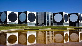Le Centre archi-tectonique à Aix-en-Provence, abrite depuis les années 70 la Fondation Vasarely.  (Fondation Vasarely)
