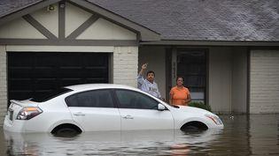 La tempête Harvey s'est abattue sur le Texas auxÉtats-Unis, le week-end du 26 et 27 août 2017. (JOE RAEDLE / GETTY IMAGES NORTH AMERICA)