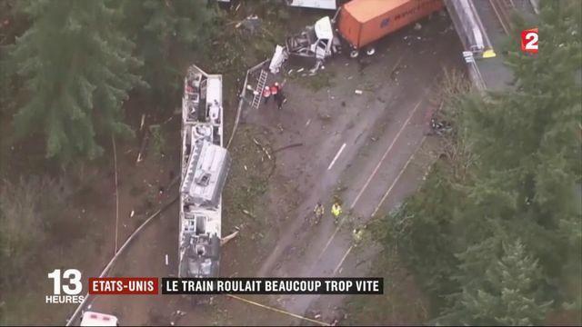 États-Unis : violent déraillement d'un train entre Seattle et Portland