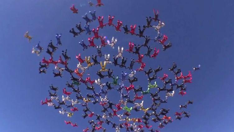 Parachutisme : des passionnés réalisent des chorégraphies en plein ciel. (FRANCE 3)