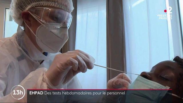 Coronavirus : des tests hebdomadaires obligatoires dans les Ehpad