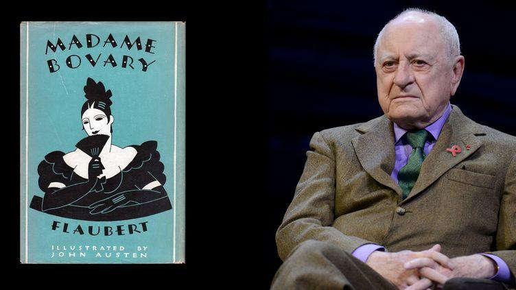 """Pierre Bergé, le livre qui l'a marqué : """"Madame Bovary""""  (LICHTFELD EREZ/SIPA)"""