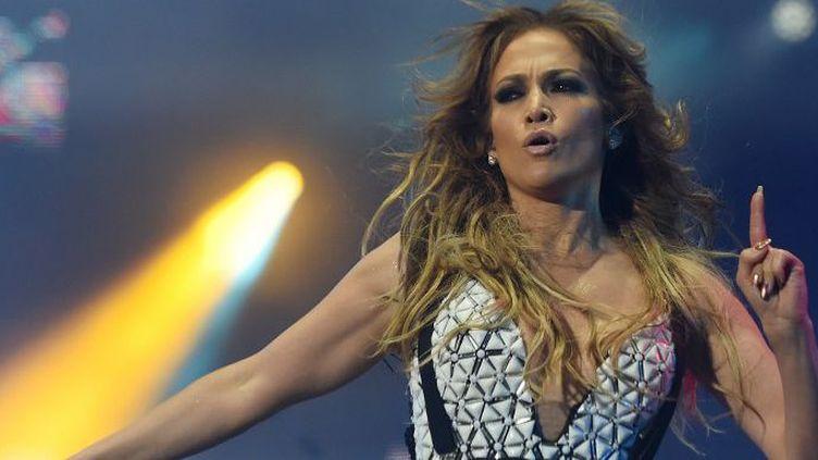 Jennifer Lopez à Rabat, le 29 mai 2015. (FADEL SENNA / AFP)