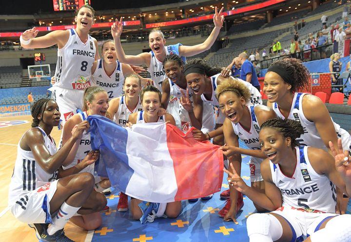 Les Braqueuses sont en demi-finale de l'EuroBasket 2017.