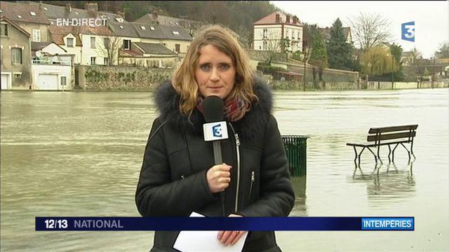"""Inondations en Seine-et-Marne : le pic de la Seine """"largement dépassé"""""""