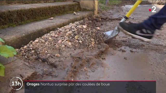 Intempéries : un violent orage a inondé la commune de Nantua