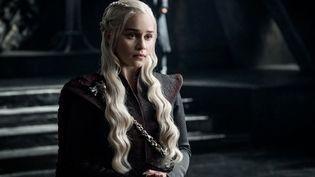 Daenerys Targaryen fait partie de ceux qui souhaitent ardemment s'emparer du Trône de Fer.  (Helen Sloan/HBO)