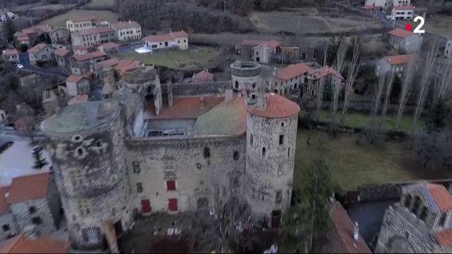 Haute-Loire : le renouveau du château de Saint-Vidal