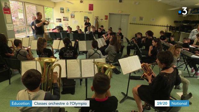 Musique : un orchestre de jeunes élèves en concert à l'Olympia