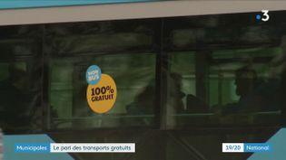 Municipales : la gratuité des transports, une fausse bonne idée ? (FRANCE 3)