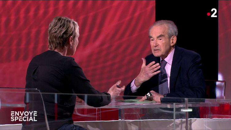 """""""Pour être antisémite, il faut être un salaud, mais en plus un imbécile"""" : l'interview de Robert Badinter dans """"Envoyé spécial"""" (FRANCE 2)"""