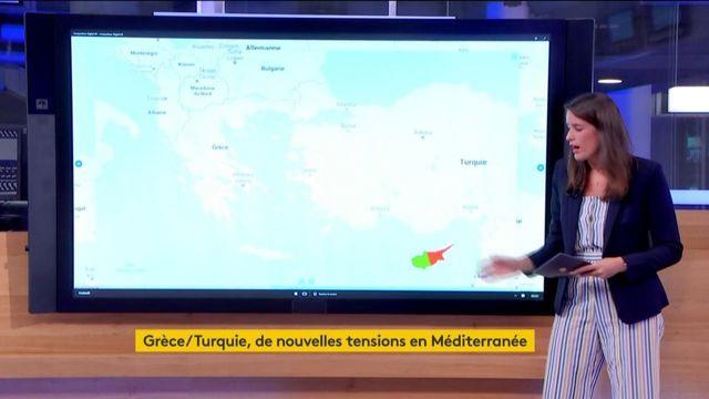 De nouvelles tensions dans la Méditerranée entre la Grèce et la Turquie