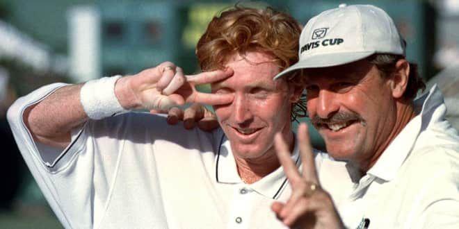 Mark Woodforde, demi-finaliste de l'Open d'Australie en 1996