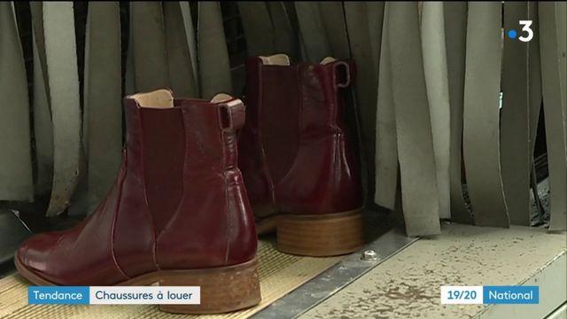 Tendance : des chaussures mises à la location