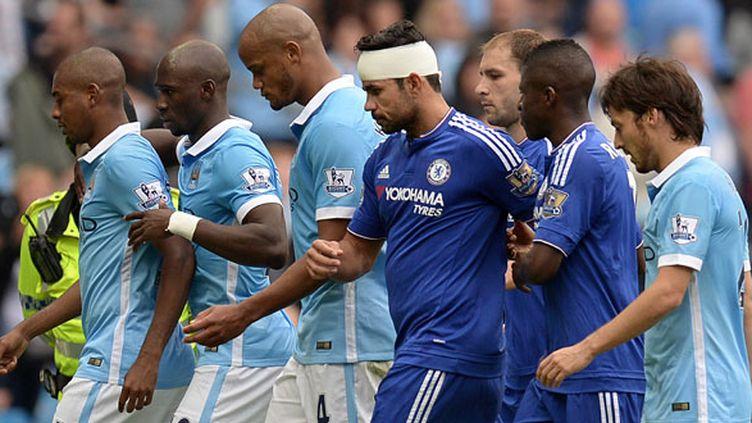 Les joueurs de City et de Chelsea vont se recroiser en Coupe d'Angleterre