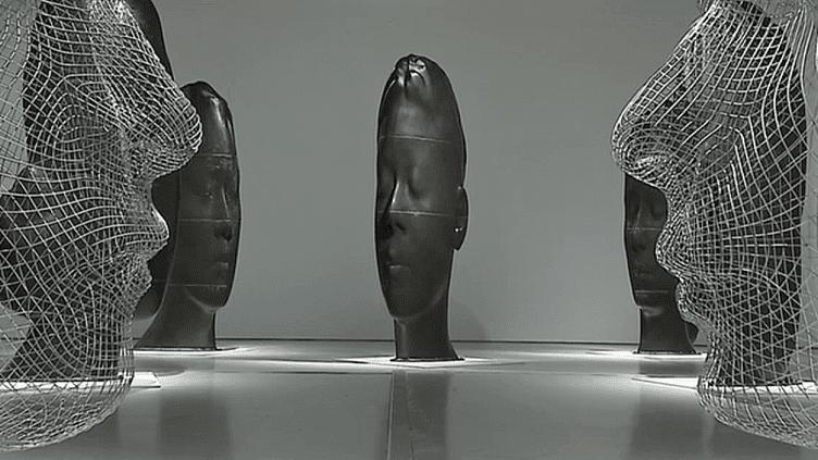 Le sculpteur catalan Jaume Plensa, expose ses oeuvres monumentales au musée d'art moderne et contemporain de Saint-Etienne  (France 3 / Culturebox)