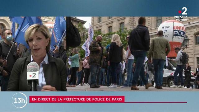 Colère des policiers : la mobilisation continue à Paris