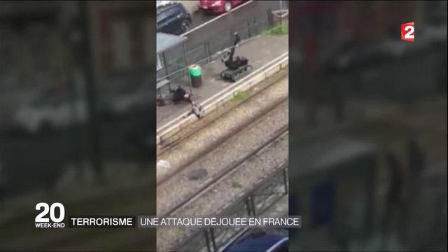 Un attentat déjoué en France