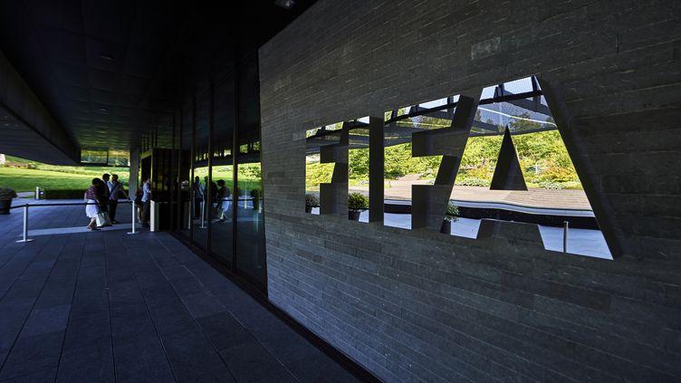 Le siège de la FIFA à Zurich (MICHAEL BUHOLZER / AFP)